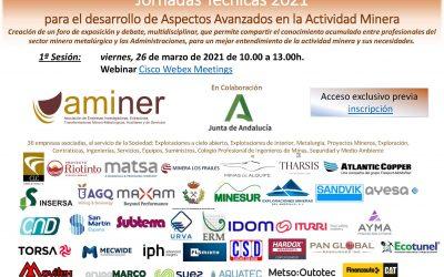 Jornadas Técnicas 2021 para el desarrollo de Aspectos Avanzados en la Actividad Minera