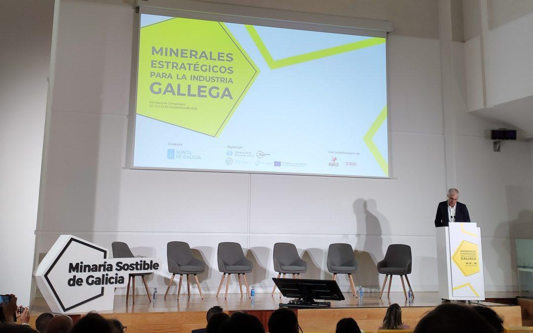 Vrivm presente en las Jornadas «Minerales estratégicos para la industria gallega».
